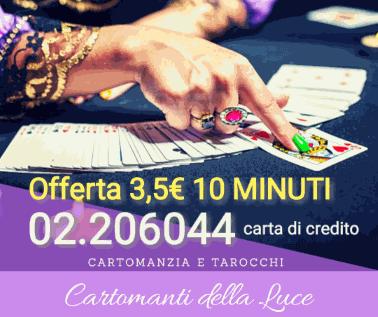 minuti gratis offerta cartomanzia